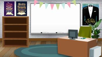 Virtual Classroom Background by Sweet Sadie s Teachers Pay Teachers