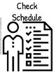 Visual Schedule for Students with Autism- Printable