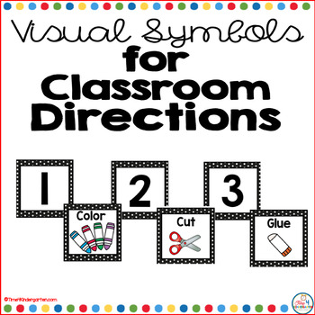 Visual Symbols for Classroo... by Time 4 Kindergarten