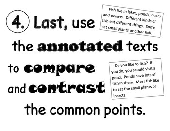 Compare and Contrast Same Topic Texts Essential Questions