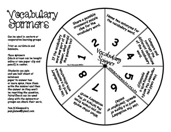 Vocabulary Comprehension Center Common Core Aligned ELA L