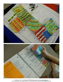 Vocabulary Comprehension Cube Common Core Aligned ELA L.3
