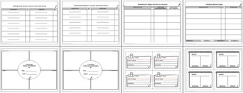 Vocabulary Word Work Graphic Organizers Common Core by