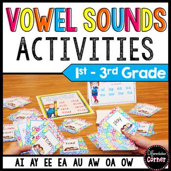 Vowel Digraphs Game Updated By Differentiation Corner