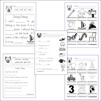 Vowel Owls: Vowel digraphs, diphthongs and variants by