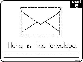 Vowels & Word Families {Short Vowel Tracing Book} by Karen