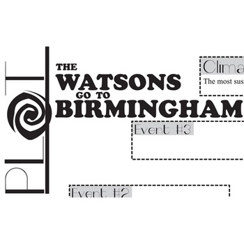 THE WATSONS GO TO BIRMINGHAM Plot Chart Organizer Diagram