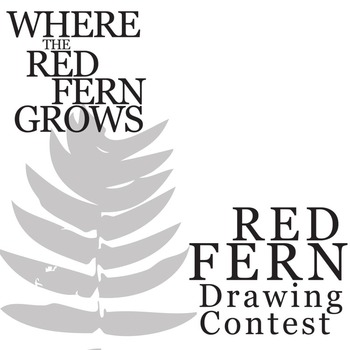 WHERE THE RED FERN GROWS Red Fern Art Activity by Created