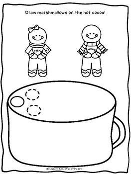 Pom Pom Drawing : drawing, WINTER, MOTOR:, Tweezers, Drawing