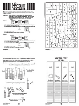 Washington State History Interactive Notebook Unit + AUDIO
