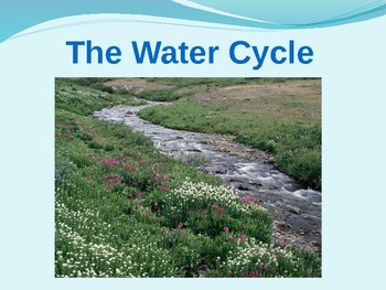 Water Cycle Diagram Interactive PowerPoint by Olivia Penn