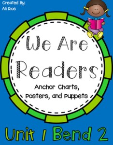 also we are readers anchor charts and posters by ali mills tpt rh teacherspayteachers