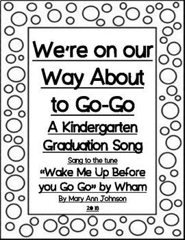 kindergarten graduation song we