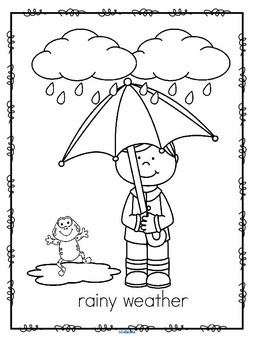 Weather Activities Introduction for Early Learners by