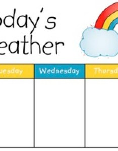 Weather chart morning meeting also by perfectly primary printables tpt rh teacherspayteachers
