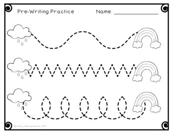 Preschool Weather Circle Time, Centers, & Printables by