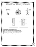 Weather Instruments Worksheet Teaching Resources