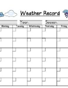 also weather record chart for daily recording by jennifer sakel tpt rh teacherspayteachers