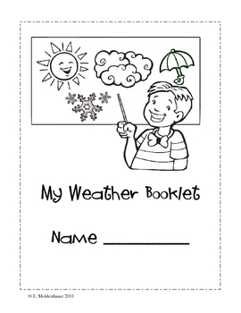 Weather Unit Elementary Level Lesson Plans by Little
