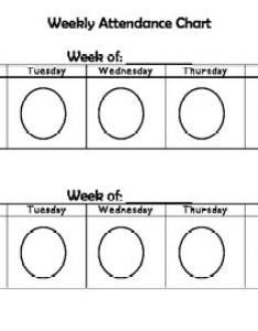 also weekly attendance chart by kinder rox teachers pay rh teacherspayteachers