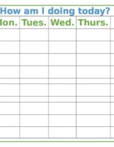 also weekly behavior chart by spanish dual teachers pay rh teacherspayteachers
