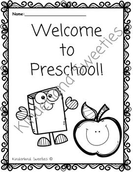 Welcome Coloring pages (Preschool, Transitional