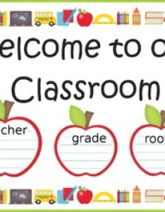 also welcome chart for classroom door sign poster tpt rh teacherspayteachers