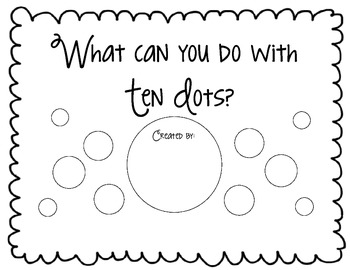 What Can You Do With Ten Dots? A Book To Inspire