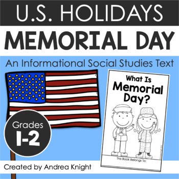 Memorial Day (A Holiday Book for Primary Students) by