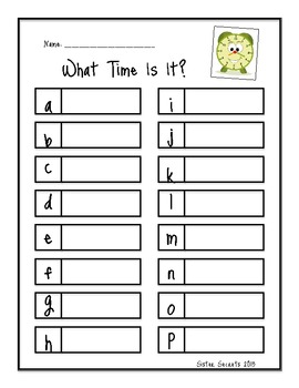 What Time Is It?: Telling TIme to the 5 Minutes by Sister