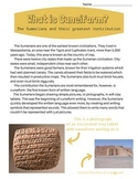 Cuneiform Worksheets Amp Teaching Resources