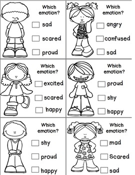 Emotions & Feelings Posters and Activities by Teacher