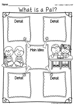 What is a Pal? aligned with Journeys First Grade Unit 1