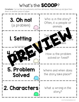 What's the SCOOP? Story Retelling Pack by This Reading