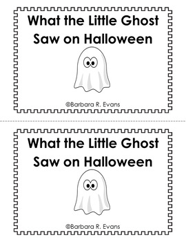 HALLOWEEN EMERGENT READER High Frequency Words Predictable