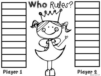 What's My Number? A Patterns Pack {CCSS 3.OA.9} by Wendy