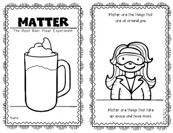What's the Matter Root Beer Float Experiment Reader