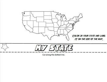 Where I Live Flip Book: A Social Studies Map Skills