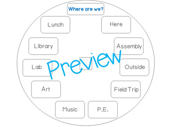 Where Is Our Class Poster? (Where are we?) by Mrs Wenning