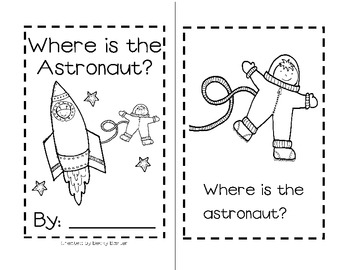 Where is the Astronaut? Sight Word Reader by Becky Baxter