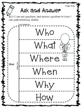 Who, What, Where, When, Why, and How for Interactive
