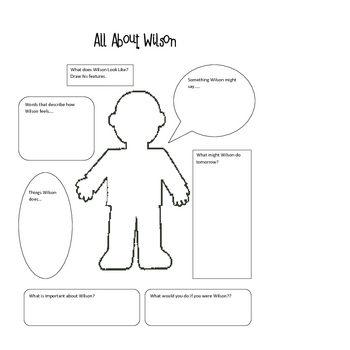 Wilson Sat Alone Activities and Printables for Harcourt by