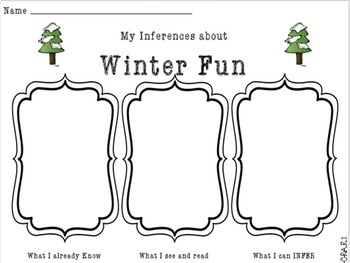 Winter 2nd Grade Literacy Packet NO PREP Common Core