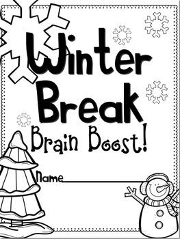 Winter Break Brain Boost for First Grade! by Stephany