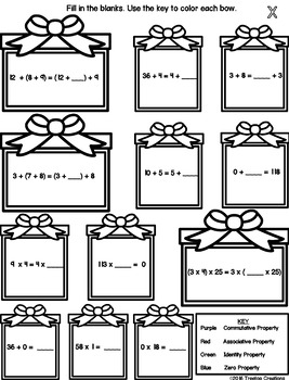 Winter Break Math Packet (4th-5th grade) by Treetop