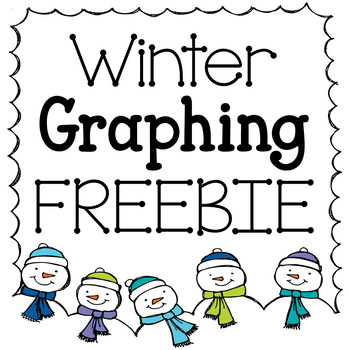 Winter Graphing Freebie: Bar Graph & Line Plot by The