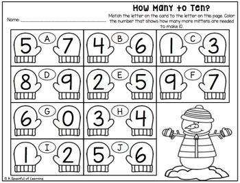 Winter Math Centers! Aligned to the CC by A Spoonful of