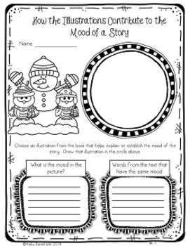 Common Core: Winter Themed Graphic Organizers by Kelly