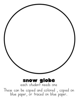Winter Writing: A Snow Globe Craftivity by Taking on