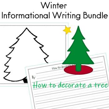 Winter Informational Writing Bundle by Sailing Through the